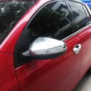 Хром на зеркала для Volkswagen Golf 6 (2009 - 2013)