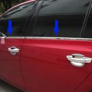 Нижние молдинги окон для Volkswagen Golf 6 (2009 - 2013)