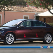 Хром молдинг дверей для Volkswagen Passat B8 (2015 - ...)