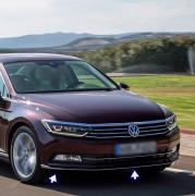 Хром окантовки переднего бампера для Volkswagen Passat B8 (2015 - ...)