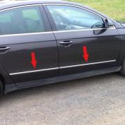 Молдинг дверей для Volkswagen Passat B6 3C (2005 - 2010)
