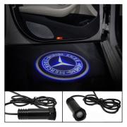 Проектор логотипа (врезной) для Mercedes GLA X156 (2014 - ...)