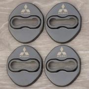 Накладки на петли дверей для Mitsubishi Outlander (2003 - 2006)