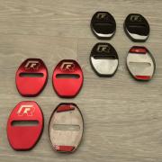Накладки на петли замков дверей для Volkswagen Golf 6 (2009 - 2013)