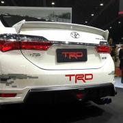 Спойлер крышки багажника Toyota Corolla (2013 - ...)