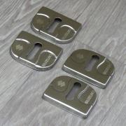 Накладки на петли замков дверей для Suzuki Swift (2005 - 2010)