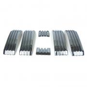 Накладки на решетку радиатора для Toyota Prado 150 (2018 - ... )