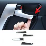 Хром на внутренние ручки салона для Toyota Prado 150 (2018 - ... )