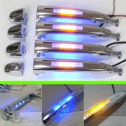 Ручки с поворотом и подсветкой для Toyota Prado 120 (2003 - 2008)