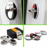 Накладки на дверные замки для Audi A4 (2008 - 2015)