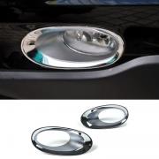 Хром на передние противотуманки (2010 - 2012) для Honda CR-V (2007 - 2012)