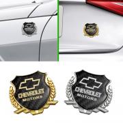 Эмблема герб карбон для Chevrolet Aveo (2006 - 2010)