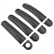 Накладки на ручки карбон для Skoda Octavia A4 (99 - 2004)