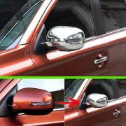 Накладки на зеркала для Mitsubishi Outlander (2013 - ...)