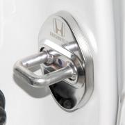 Накладки на петли замков дверей хром для Honda CR-V (2002 - 2006)