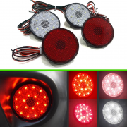 Задние габаритные огни (диодные катафоты) для Nissan Qashqai (2007 - 2014)