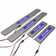 Накладки на пороги с подсветкой для Chevrolet Cruze (2009 - ...)