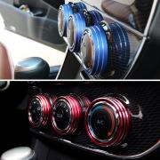 Окантовки на регуляторы кондиционера и печки для Toyota Corolla (2013 - ...)