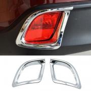 Хром на задние противотуманки для Toyota Highlander (2014 - ...)