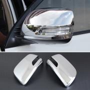 Хром на зеркала заднего вида для Toyota Prado 150 (2009 - 2017)