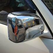 Хромированные накладки на зеркала для Toyota Land Cruiser 100 (98 - 2006)