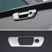 Хром на ручку задней двери для Nissan Navara (2015 - ...)