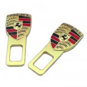 Заглушки в ремни безопасности для Porsche Cayman (2005 - ...)