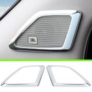 Хром на динамики в стойках для Lexus GX 460 (2009 - ...)