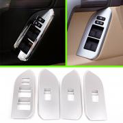 Накладки на стеклоподъемники для Toyota Prado 150 (2009 - 2017)
