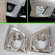 Хром на передние противотуманки для Toyota Corolla (2013 - ...)