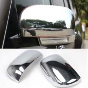 Хром накладки на зеркала для Mitsubishi Pajero 4 (2007 - ...)