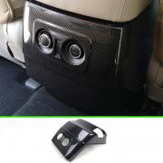 Карбон сзади подлокотника между сидений для Mitsubishi Pajero 4 (2007 - ...)