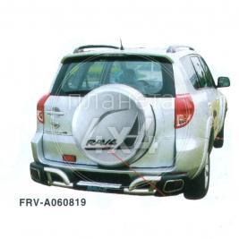 Дуга заднего бампера с приступом под ноги Toyota RAV4 (2006 - 2012)