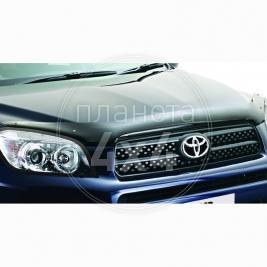 Мухобойка (дефлектор капота) Toyota RAV4 (2006 - 2012)