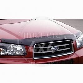 Мухобойка (дефлектор капота) Subaru Forester (2002 - 2007)