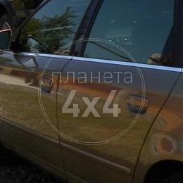 Молдинги окон Audi A4 (2004 - 2007)