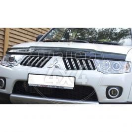 Дефлектор капота Mitsubishi Pajero Sport (2009 - ...)