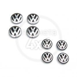 Заглушки в диски Volkswagen