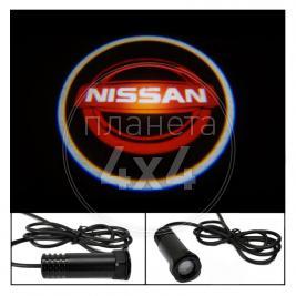 Проектор логотипа (врезной) Nissan