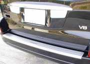 Накладка на задний бампер для Toyota Prado 120 (2003 - 2008)