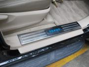Накладки на пороги с подсветкой для Toyota Prado 150 (2018 - ... )