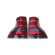 Задние фонари диодные темные для Toyota Prado 150 (2009 - 2017)