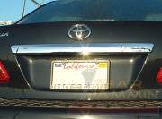 Планка над номером для Toyota Corolla (2007 - 2012)