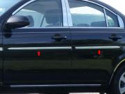 Хром на молдинги дверей для Hyundai Accent (2006 - 2010)