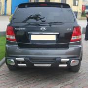 Дуга заднего бампера для Kia Sorento (2003 - 2009)