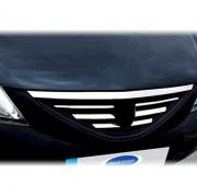 Хром накладки на решетку радиатора для Dacia Logan MCV (2005 - ...)
