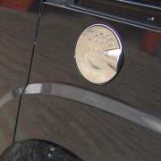 Хром на люк бензобака для Fiat Doblo (2001 - 2009)
