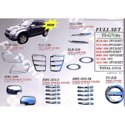 Хром пакет (c 2005 г.) для Suzuki Grand Vitara (2005 - ...)
