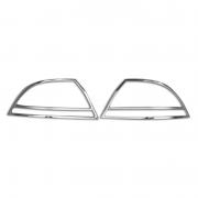 Хром на задние фонари для Mitsubishi Lancer IХ (2003 - 2006)