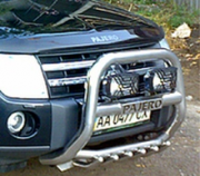 Кенгурятник для Mitsubishi Pajero 4 (2007 - ...)